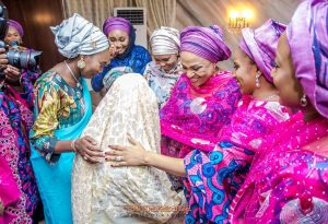 Photo of Gov Ajimobi spends millions on bridal gifts as son weds Gov Ganduje's Daughter (Photos/Video)