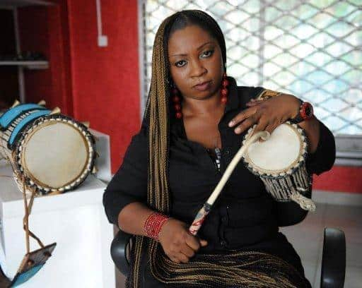 Photo of Drummer girl, Ara finally addresses rumored 'romance' with Ooni of Ife