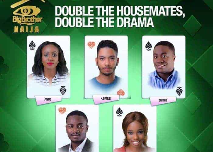 Photo of BBNaija 2018: These are the housemates up for possible eviction this Sunday