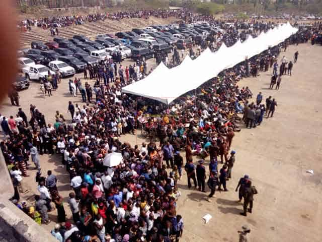 Photo of More photos as Benue holds memorial service for victims of herdsmen's attack