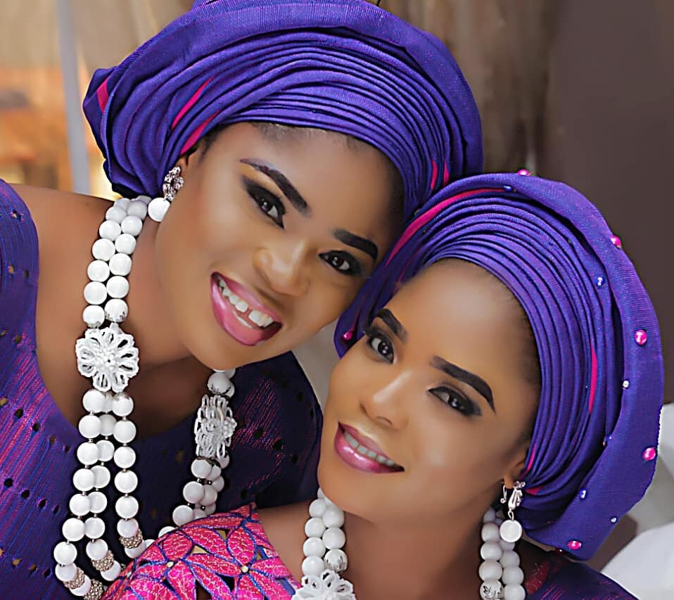Photo of Eniola Ajao unveils her twin sister at birthday celebration (photos)