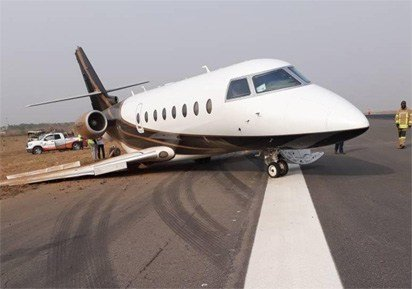 Photo of Dana airplane involved in another accident at Abuja airport