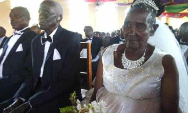 Photo of Alleged world oldest female virgin, 83, weds in style (Photos)