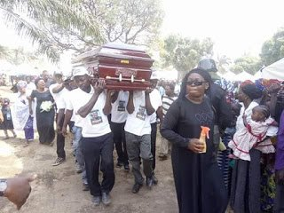 Photo of Taraba Lawmaker kidnapped and gruesomely murdered finally laid to rest (Photos)