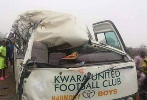 Kwara United FC ghastly accident