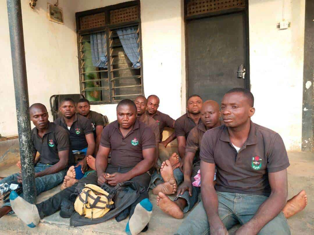Photo of Benue killings update: Nigerian Army arrest nine gang members (photos)