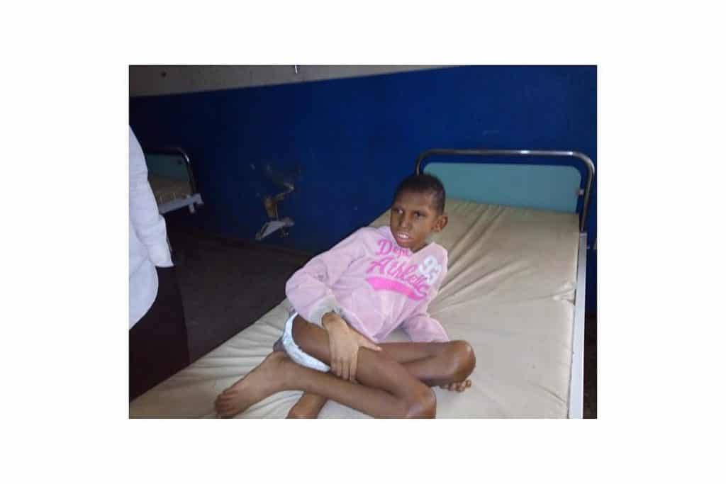 Photo of Mother abandons child with cerebral palsy in Delta State hospital