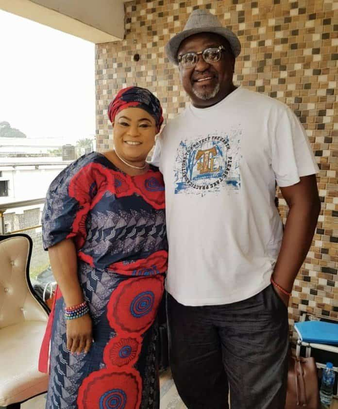 Photo of Jim Iyke, Mercy Johnson, Sola Sobowale spotted on Toyin Abraham's new movie set (photos)