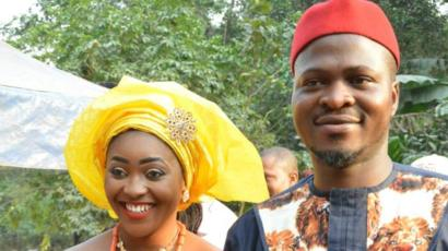 Photo of Nigerian lady who married man six days after Facebook advert speaks