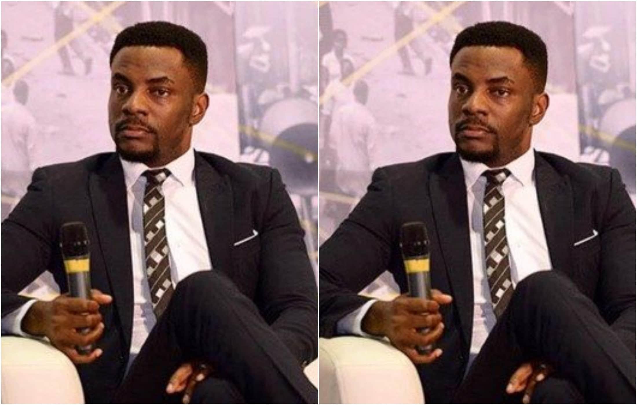Kemi Olunloyo reacts to cousin Akinkunle Olunloyo