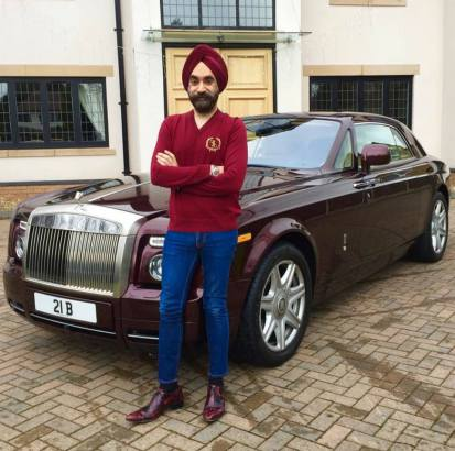 Rolls Royce for each of his turbans