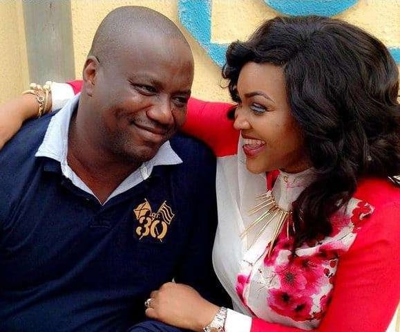 Photo of Mercy Aigbe and hubby, Lanre Gentry reconcile after 40th birthday celebration