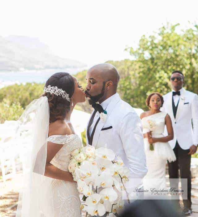 Photo of Banky W finally explains why he had an elaborate wedding against his wish