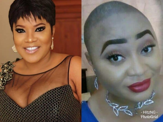 Photo of Actress calls out Toyin Abraham for treating her like 'shit' on set