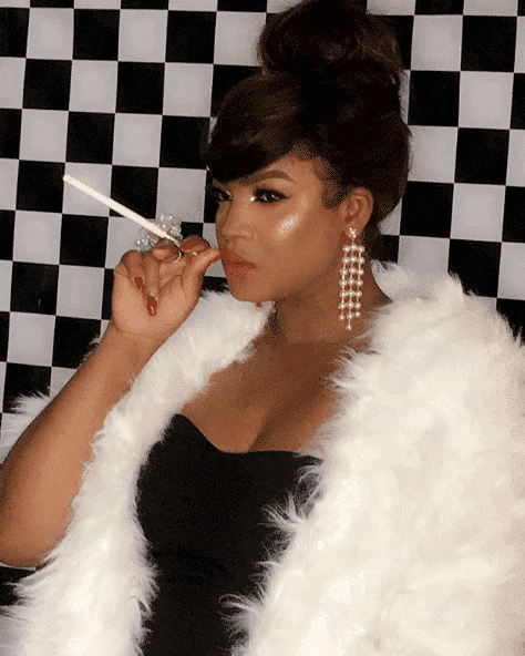 Photo of Omotola Ekeinde releases first photos from her 40th birthday shoot