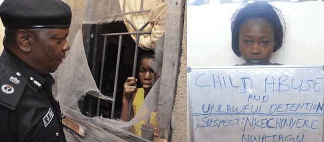 Photo of Update: Woman who locked 11-year-old maid inside Lagos apartment has been arrested