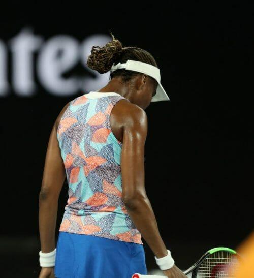 Photo of Venus Williams sent packing at Australian Open