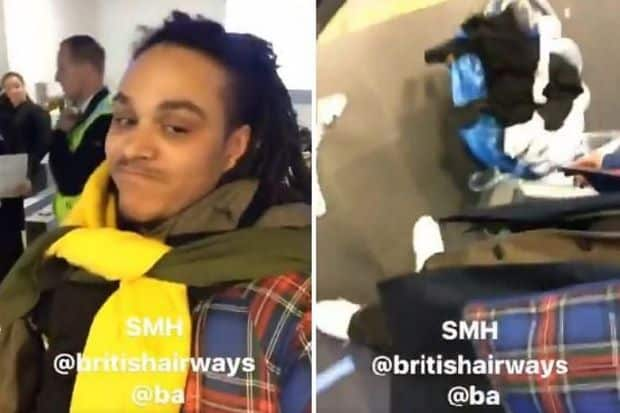 Photo of This man wore all his clothes at the airport to avoid British Airways luggage fees (Photo)