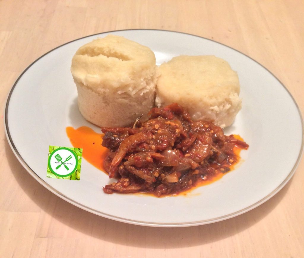 Photo of KFB Foodie Talk: How to make Ekuru and Stew (White Moi Moi And Fried Stew)