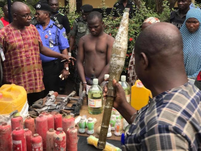 Photo of Photos of the notorious Bomb Makers arrested in Edo State