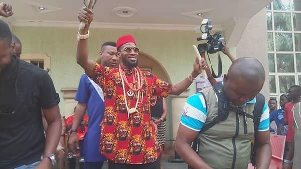 Photo of D'banj bags chieftancy title in Imo state (photos)
