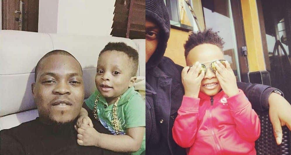 Photo of Olamide damns NBC ban, celebrates son, Batifèori as he turns 3 (photos)