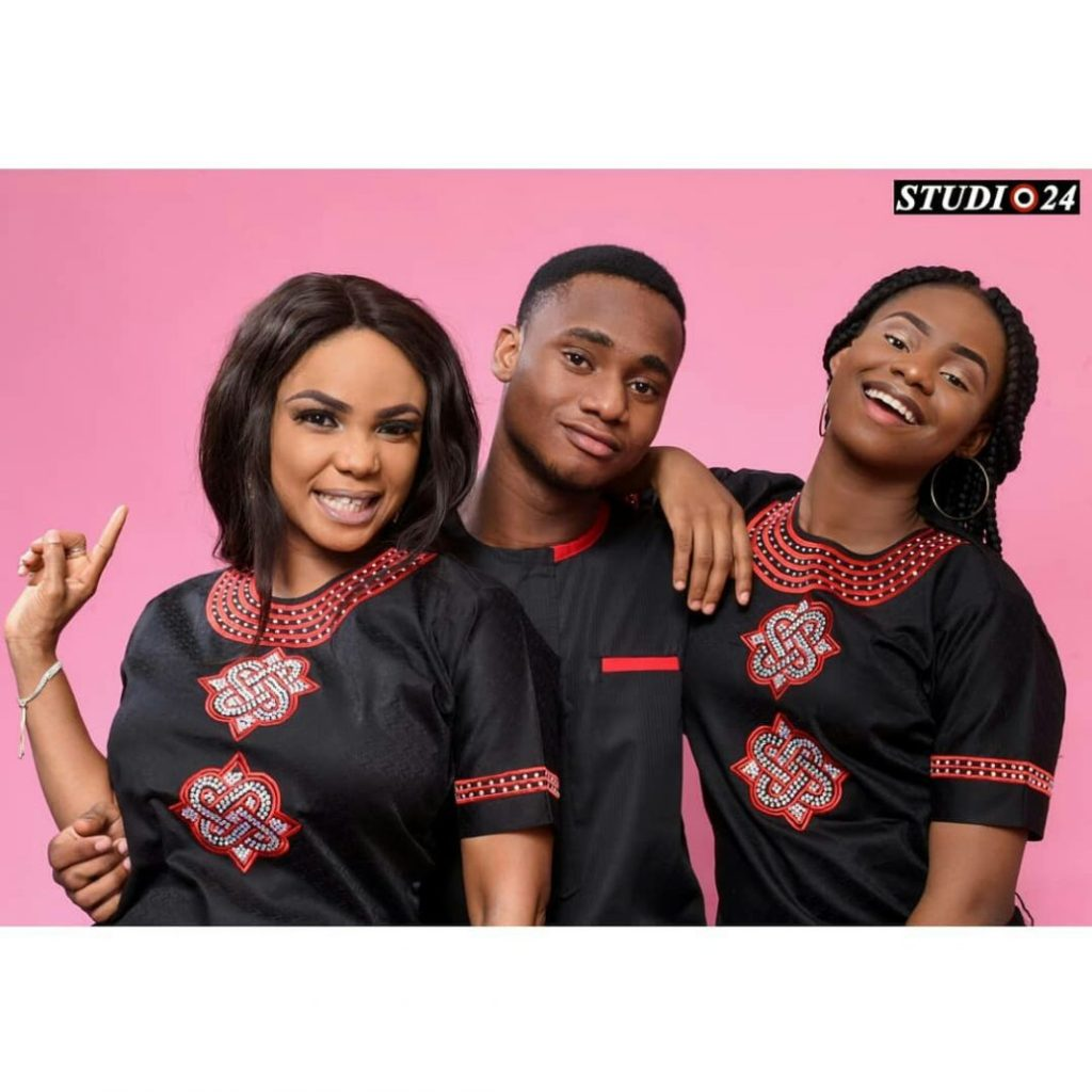 Photo of Iyabo Ojo and her two kids release new family photos