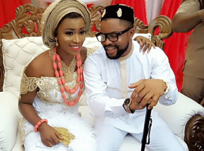 Photo of Newly wed bride shares testimony of how she met and married her groom within a month (photos)