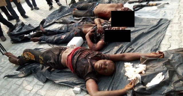 Photo of Mastermind of New Year's Day massacre in Omoku Rivers State has been killed (details)
