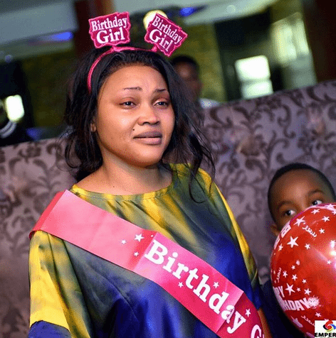 Photo of Lots of cakes, Two jaw dropping dresses! Mercy Aigbe marks 40th birthday in style (photos)