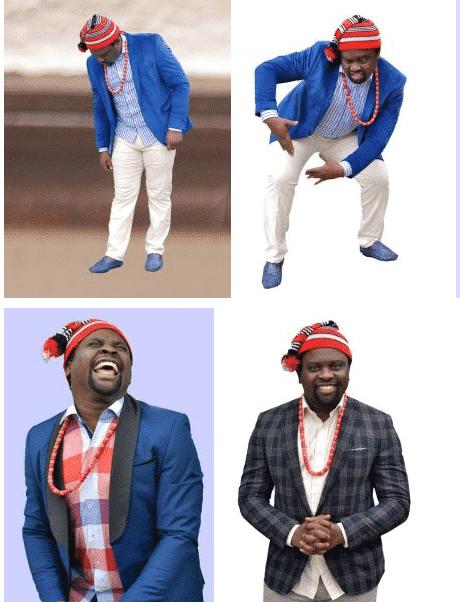 Comedian Elder O,