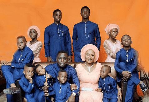 Photo of Nigerian mum of ten kids, Laye Ajube tells her story (photos)