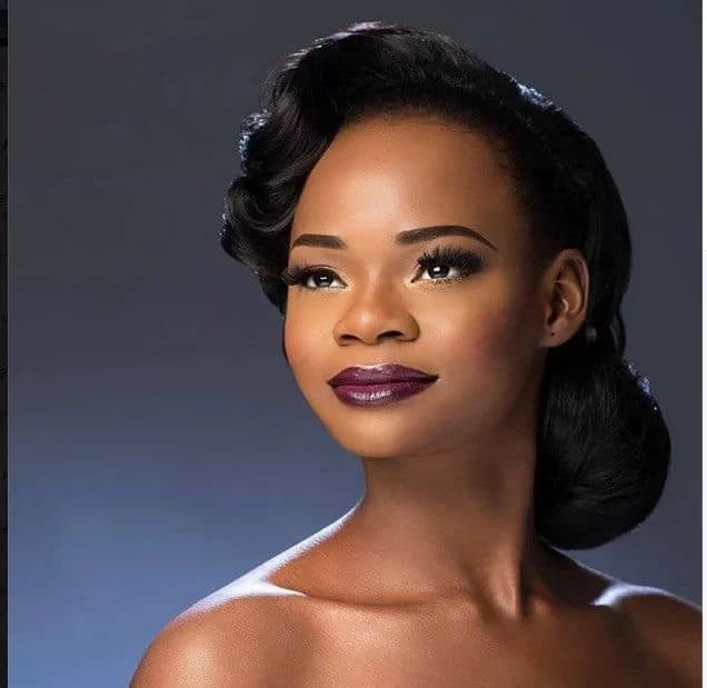 Photo of Olajumoke features photo bomber, Tobi, in wedding shoot (photos)