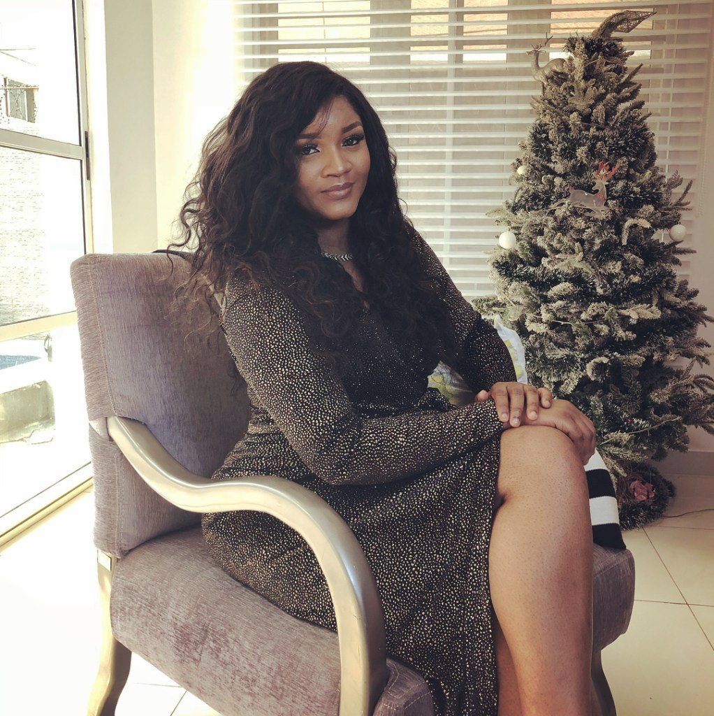 Omo S*xy! Actress, Omotola Ekeinde Shares Sultry Photos From Her Pre-40th Borthday Shoot