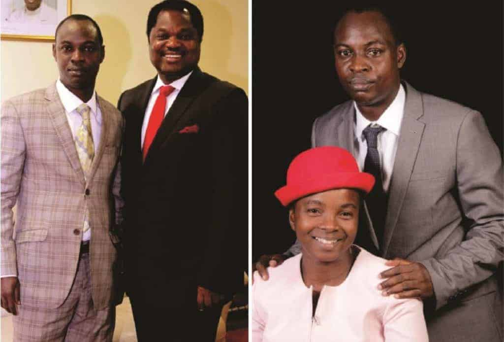 Photo of Pastor Wole Oladiyun's interpreter reveals his relationship with him & how he started his ministry
