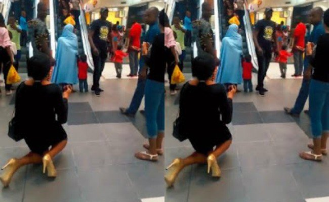 Photo of Failed Ikeja city mall proposal: 6 reasons a lady should never propose to a man