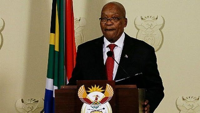 Photo of South Africa's President ZUMA has resigned -Details