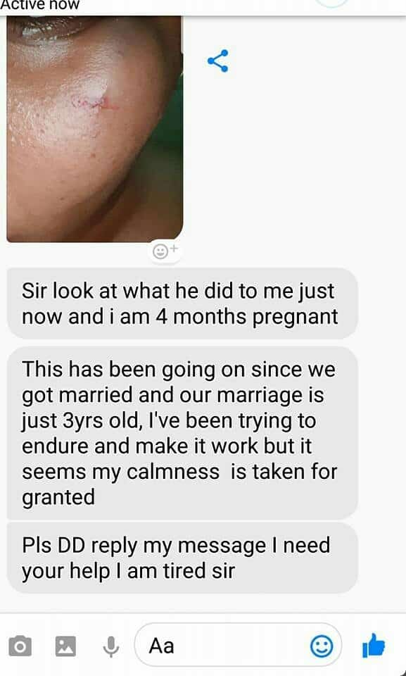 Photo of Domestic Violence: Man brutalizes his pregnant wife ahead of valentine's over gambling