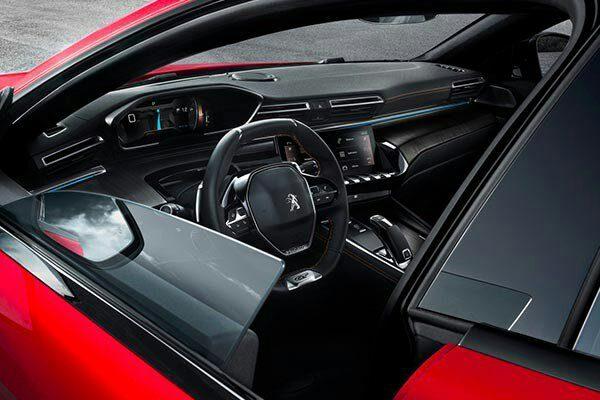 The new 2019 peugeot 508 unveiled kemi filani news - Interior peugeot 508 ...