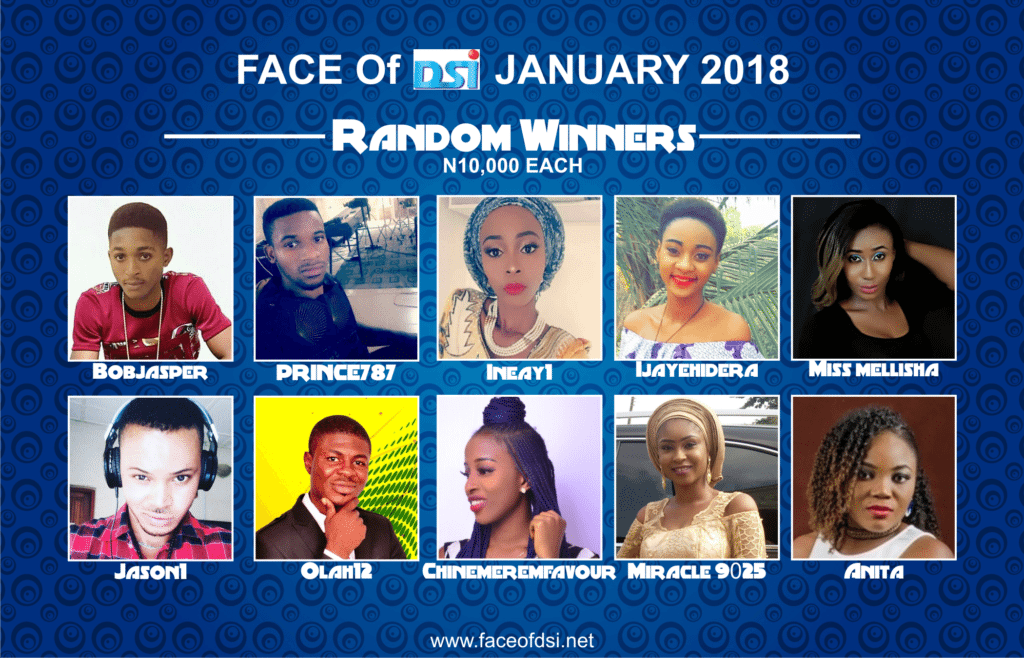 Photo of Join Face of DSI February Contest and Win BIG!
