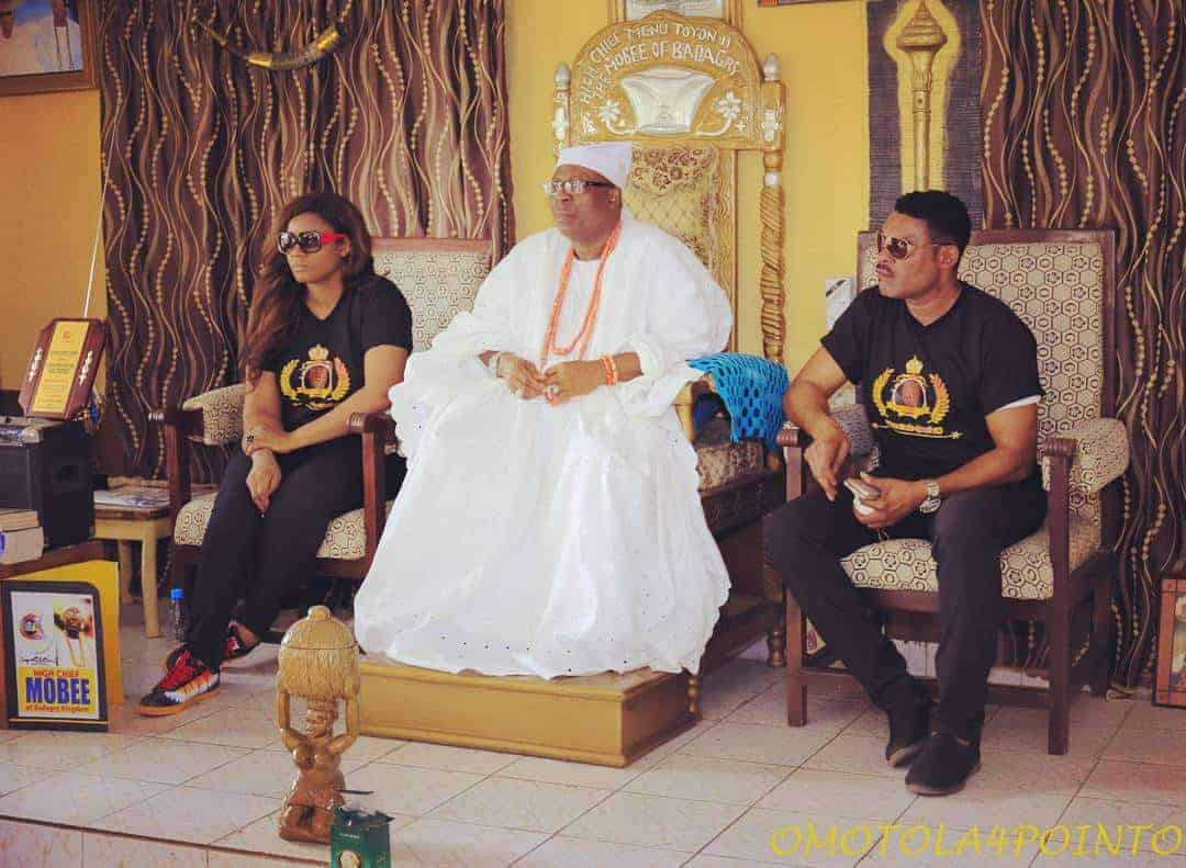 Photo of Omotola shares pictures from her visit to the historic town of Badagry