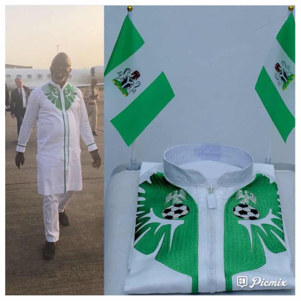 Photo of Warri based fashion designer becomes official ceremonial outfit designer of Nigeria Football Federation