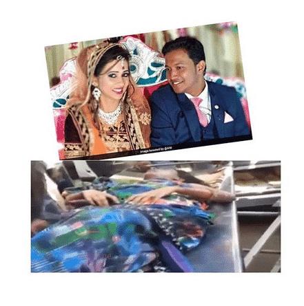 Photo of Groom killed, Bride injured as wedding gift explodes