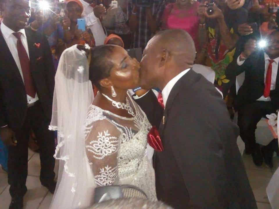 Photo of 50-year-old woman weds for the first time in Port Harcourt (Photos)