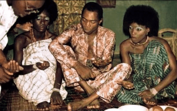Photo of How Fela Anikulapo Kuti married 27 women on the same day + rare photos