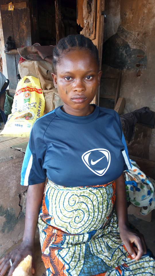 Photo of Pregnant Lady loses memory after escaping from ritualists (Photos)