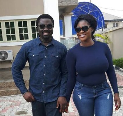 Photo of Actress Mercy Johnson's husband, Prince Okojie pens sweet message for her to celebrate Valentine