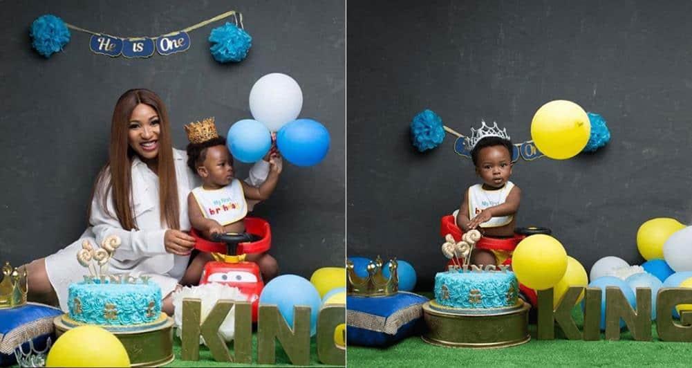 Photo of Actress Tonto Dikeh celebrate her son's 1st birthday in style (Photos)