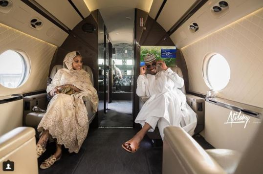 Photo of Beautiful couple take to private jet for pre-wedding shoot (Photos)