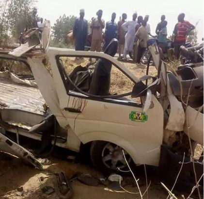 Bus carrying students for excursion crashes